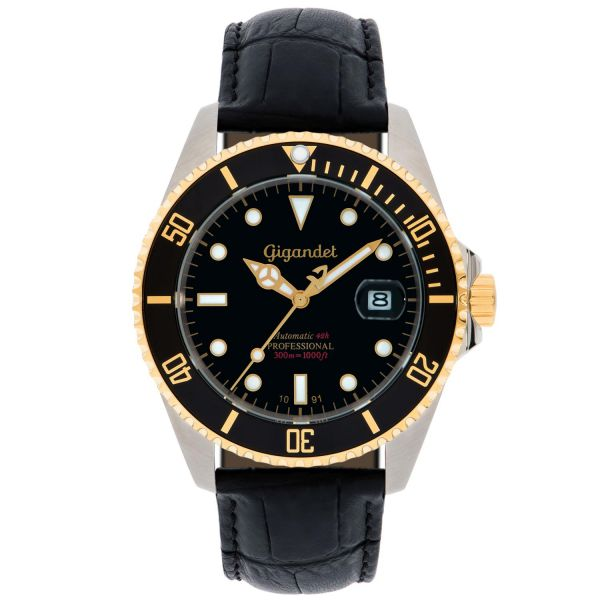 Herrenuhr Automatik Gigandet SEA GROUND G2-018